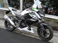 2014Kawasaki Z250 ホワイト!POP UP!